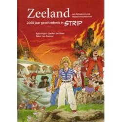 Zeeland in strip HC 2000 jaar geschiedenis