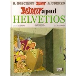 Asterix Latijn 23 HC Apud Helvetios