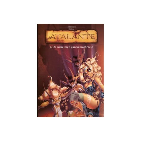 Atalante<br>03 De geheimen van Samothracië<br>1e druk 2003