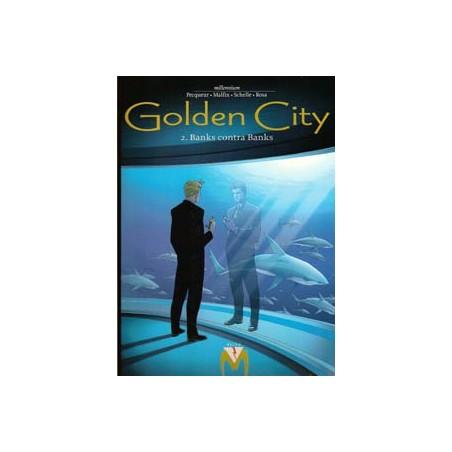 Golden city 02 Banks contra banks 1e druk 2000