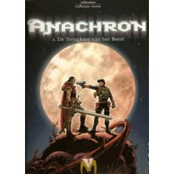 Anachron setje HC<br>Deel 1 t/m 4