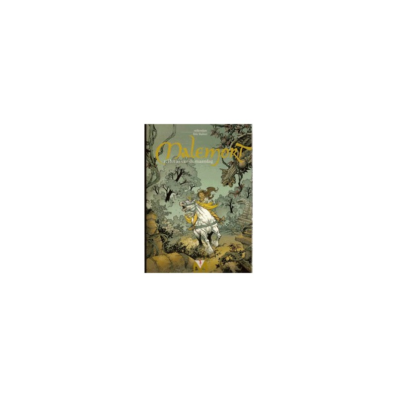 Malemort setje HC Deel 1 t/m 5 1e drukken 2000-2003