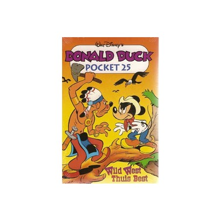 Donald Duck pocket 025 Wild west, thuis best herdruk