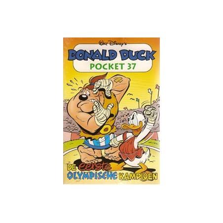 Donald Duck  pocket 037 De eerste olympische kampioen