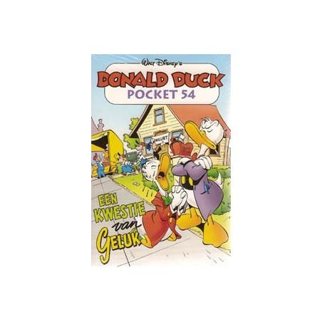 Donald Duck pocket 054 Een kwestie van geluk 1e druk