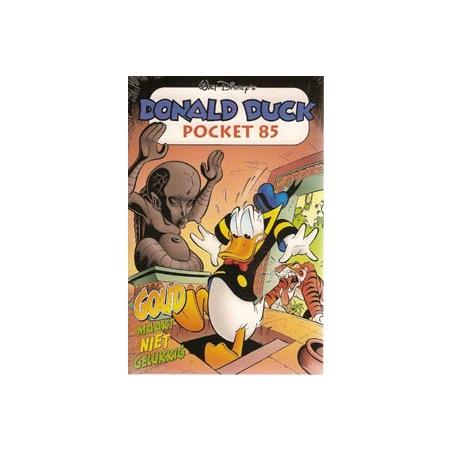 Donald Duck pocket 085 Goud maakt niet gelukkig 1e druk