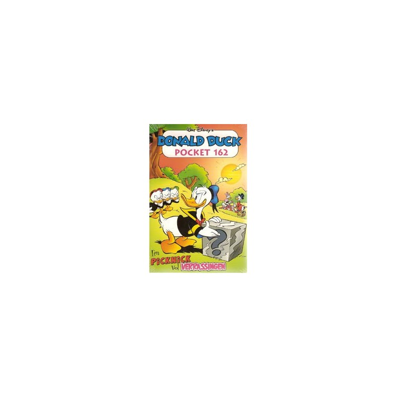 Donald Duck  pocket 162 Een picknick vol verrassingen