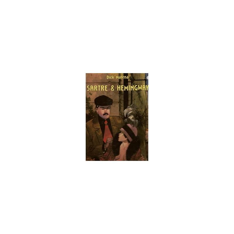 Matena strips Sartre & Hemingway HC Arboris Luxe reeks 28