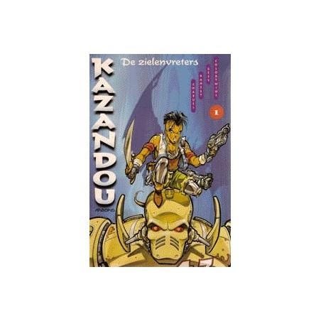 Kazandou setje Deel 1 t/m 8 1e drukken 1996-1998