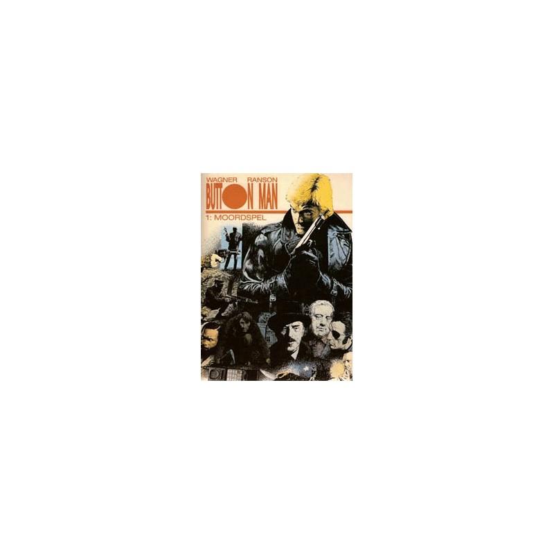 Button man setje SC Deel 1 & 2 1e drukken 1995