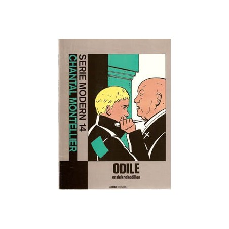 Serie Modern 14 Odile en de krokodillen 1e druk 1987