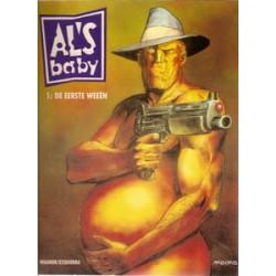 Al's baby 01 HC<br>De eerste weeën<br>1e druk 1992