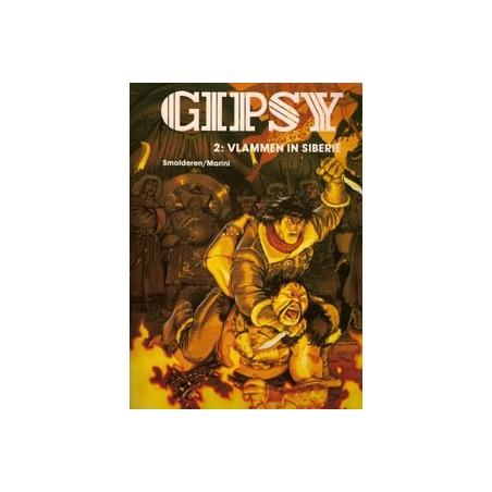 Gipsy 02 Vlammen in Siberië 1e druk  1997