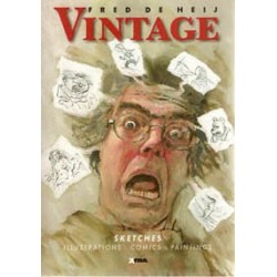 De Heij<br>Vintage (sketches, illustrations, comics, paintings)