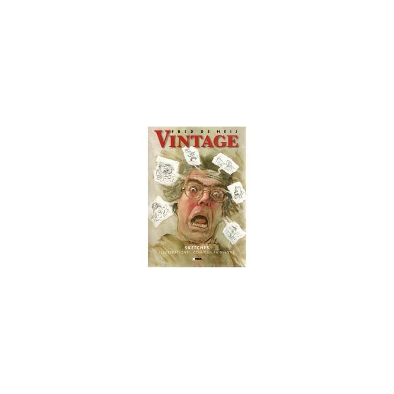 De Heij strips Vintage (sketches, illustrations, comics, paintings)