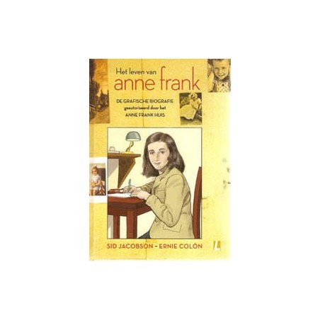 Colon Anne Frank HC De grafische biografie