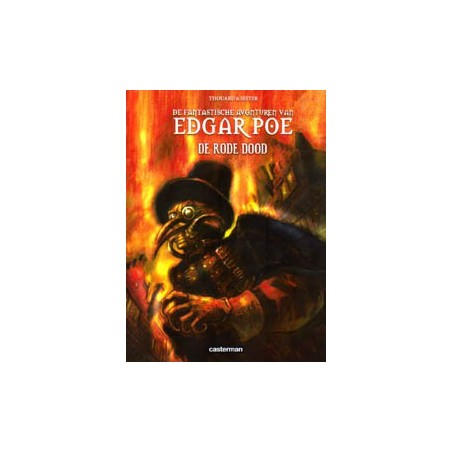 Edgar Poe 03 De rode dood 1e druk 2010