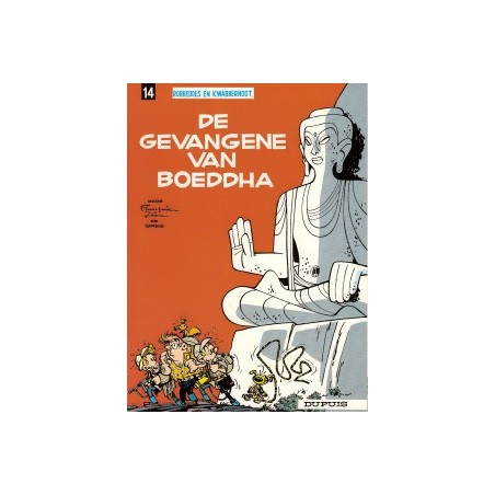 Robbedoes  14 De gevangene van boeddha