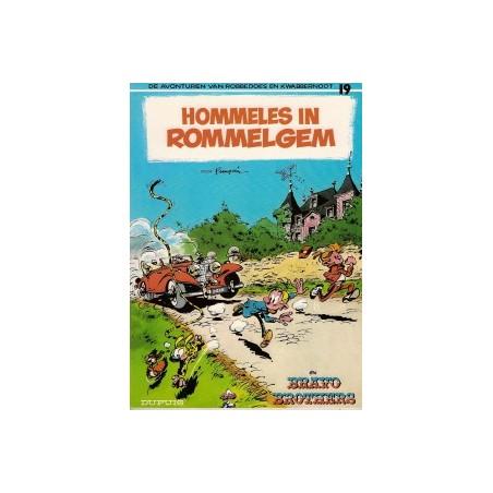 Robbedoes 19 Hommeles in Rommelgem herdruk