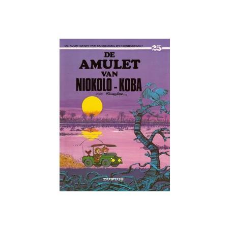 Robbedoes  25 De amulet van Niokolo-Koba