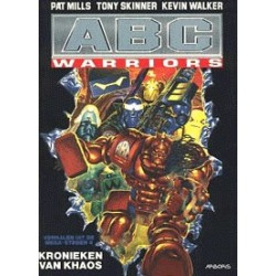 ABC Warriors setje<br>Deel 1 t/m 5<br>1e drukken 1994-1998