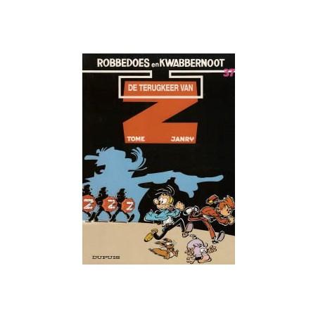 Robbedoes  37 De terugkeer van Z