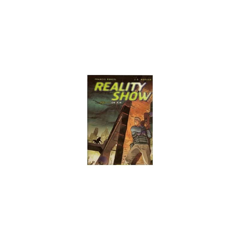 Reality show setje Deel 1 & 2 1e drukken 2003-2004
