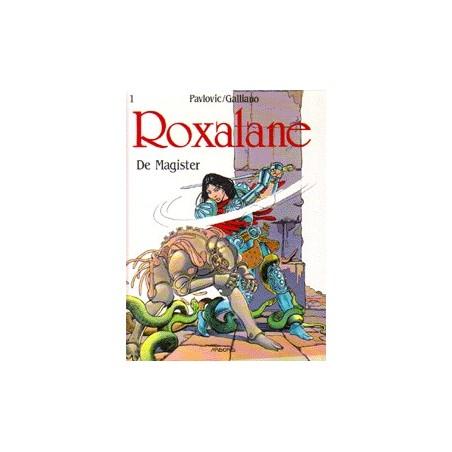 Roxalane setje HC Deel 1 t/m 4 1e drukken 1990-1992