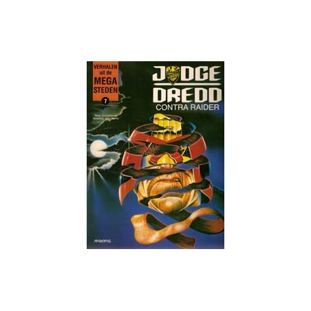Verhalen uit de Mega-steden  07 Dredd contra Raider