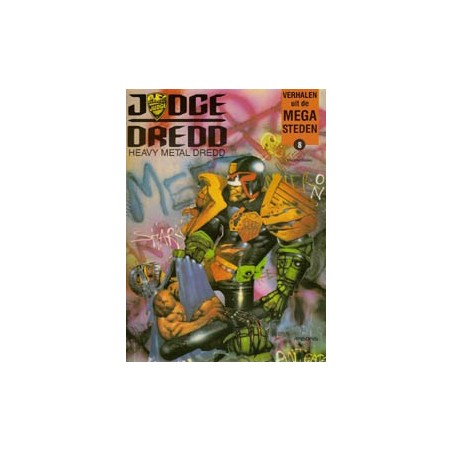Verhalen uit de Mega-steden  08 Heavy metal Dredd