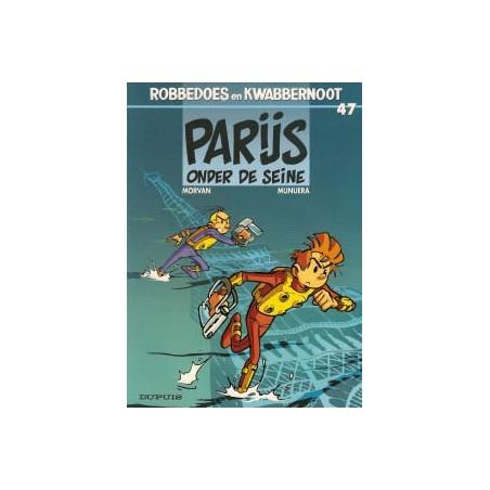 Robbedoes  47 Parijs onder de Seine