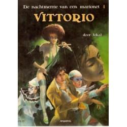 Nachtmerrie van een marionet 01 SC<br>Vittorio<br>1e druk 1990