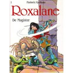 Roxalane 01<br>De magister<br>1e druk 1990