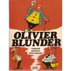 Olivier Blunder 03<br>Nogmaals getekend<br>1e druk 1974