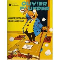 Olivier Blunder 09<br>Onweerstaanbaar niet te stuiten<br>1e druk