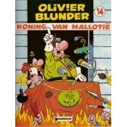 Olivier Blunder 14<br>Koning van Mallotië<br>1e druk 1980