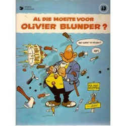 Olivier Blunder 19<br>Al die moeite voor...?<br>1e druk 1981