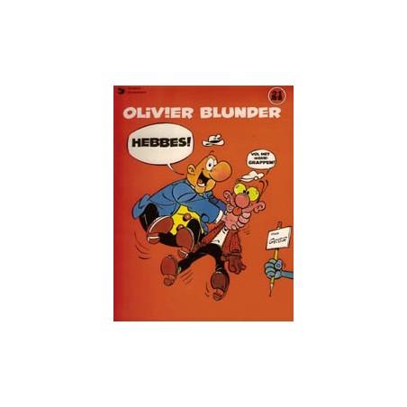 Olivier Blunder 21 Hebbes 1e druk 1982