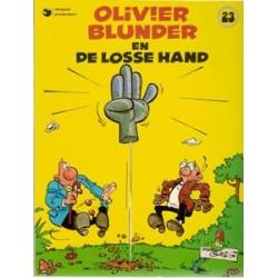 Olivier Blunder 23<br>De losse hand<br>1e druk 1982