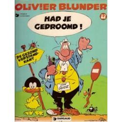 Olivier Blunder 27<br>Had je gedroomd<br>1e druk 1983