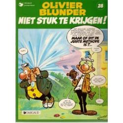 Olivier Blunder 28<br>Niet stuk te krijgen<br>1e druk 1984