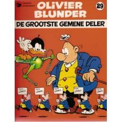 Olivier Blunder 29<br>De grootste gemene deler<br>1e druk 1984