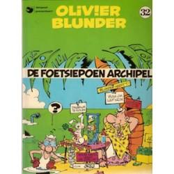 Olivier Blunder 32<br>De foetsiepoen archipel<br>1e druk 1986