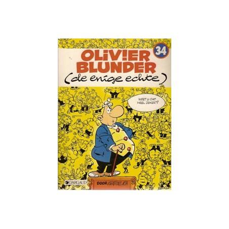 Olivier Blunder 34 De enige echte 1e druk 1987