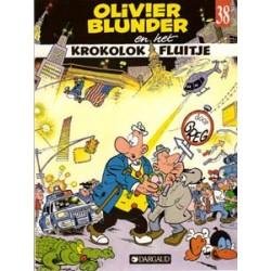 Olivier Blunder 38<br>Krokolok Fluitje<br>1e druk 1990