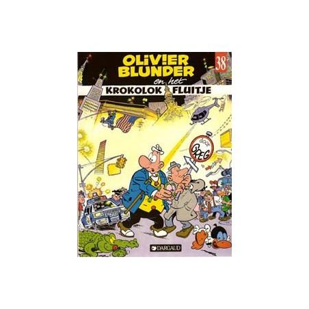 Olivier Blunder 38 Krokolok Fluitje 1e druk 1990