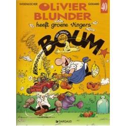 Olivier Blunder 40<br>Heeft groene vingers<br>1e druk 1998