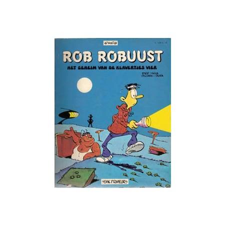Rob Robuust Het geheim van de klavertjes vier 1e druk 1977