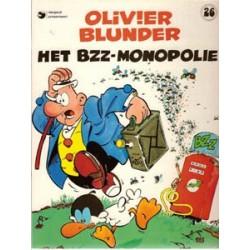 Olivier Blunder 26<br>Het bzz-monopolie<br>herdruk