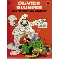 Olivier Blunder 25<br>Het spook van august<br>herdruk